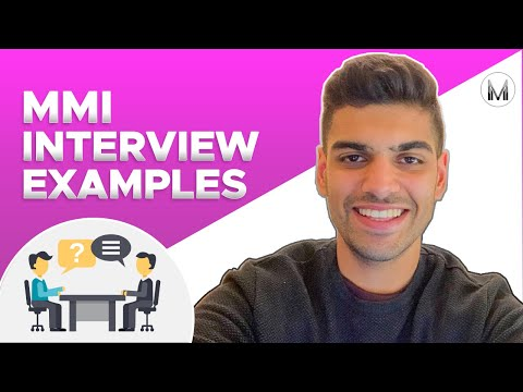 MMI Interview Examples | Tying a Shoelace