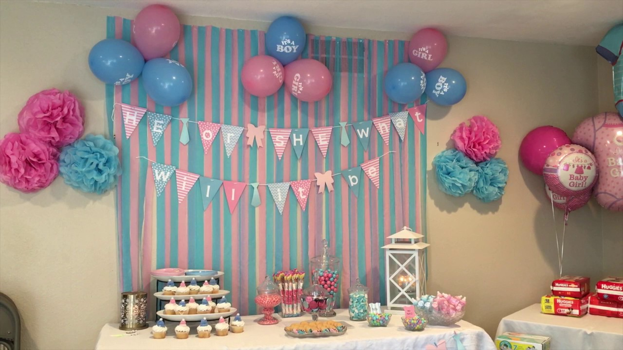 Cutest Gender Reveal Party Ever Youtube