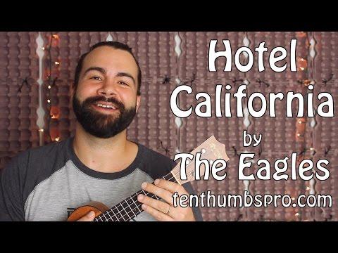 Hotel California - Ukulele Tutorial - Easy Strummer Version