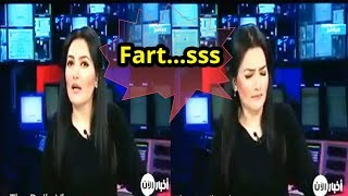 Very Beautiful Arab News Anchor Farts Live on TV | The Daily Vlogs