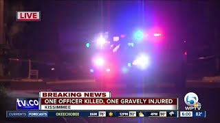 Update on Kissimmee Police Officer shooting