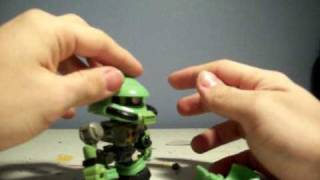 SD Gundam Force Zaku Toy Review