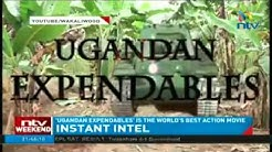 Ugandan Expendables on Live TV!