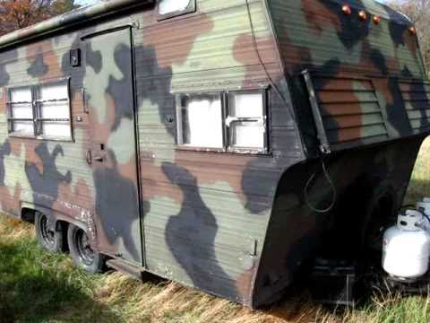 Camouflage Camper Youtube