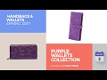 Purple Wallets Collection  Handbags & Wallets Spring 2017