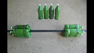 How To Make Homemade Barbell Without Cement