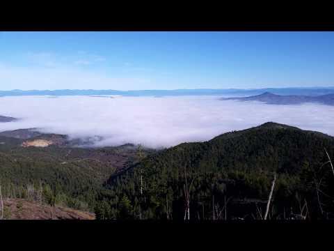 Fog timelapse over Rogue Valley, Oregon