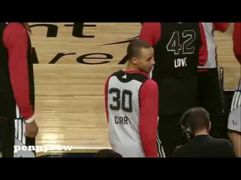 Stephen Curry TOP 10 half court shot of...