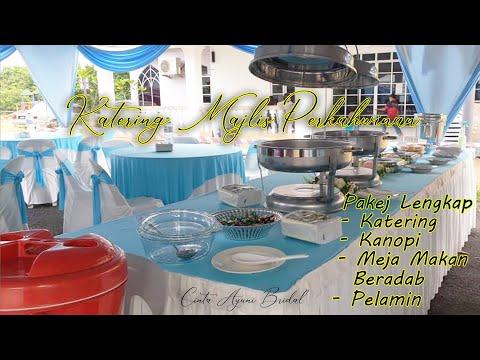 Pakej Katering Perkahwinan Terengganu