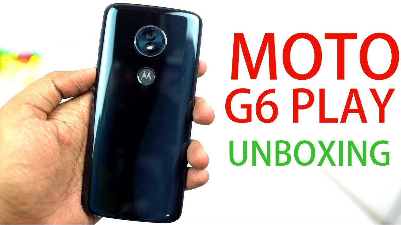 Moto G6 Play Unboxing, Dolby Audio, Speaker Test, Specs , Price and initial  Impressions