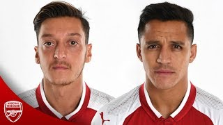 Mesut Özil & alexis sanchez - staying at arsenal 2017/18