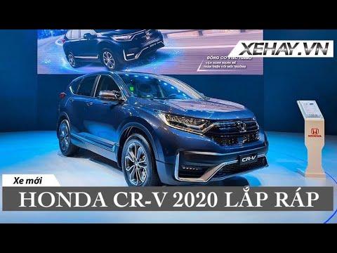 Honda Việt Nam ra mắt CR-V 2020 – thêm công nghệ, nhiều ưu đãi về giá |XEHAY.VN|
