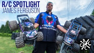 R/C Spotlight: James Ferguson's Solid Axle Monster Trucks