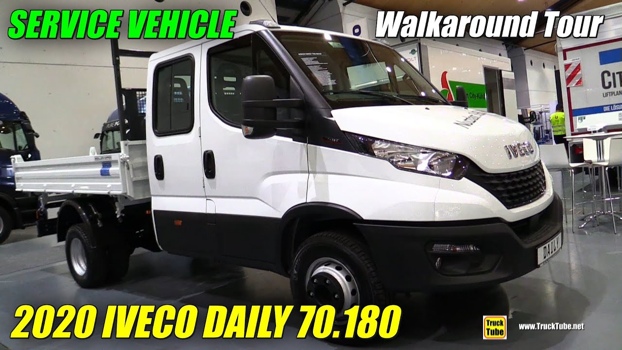 2020 Iveco Daily 70.180 Service Vehicle - Exterior