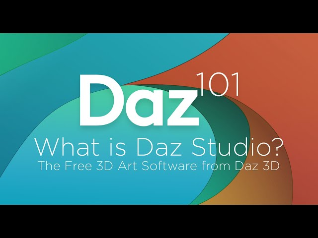 Daz 3D Tutorial: What is Daz Studio? The Free 3D Art Software from Daz 3D