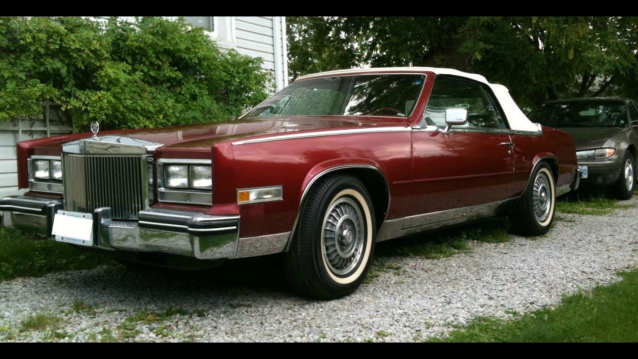Cruising in The 1984 Cadillac Eldorado Biarritz - YouTube
