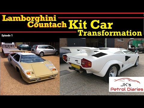 Lamborghini Countach Kit Car Transformation -EP1 - YouTube