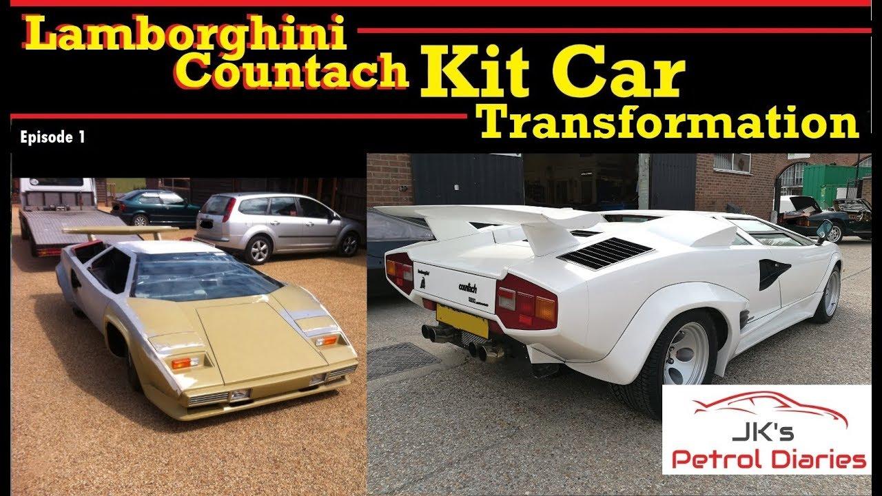 Lamborghini Countach Kit Car Transformation Ep1 Youtube