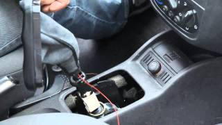 Original ICT Schaltknauf Einbauhilfe Opel Corsa C Tutorial How To Change gear knob
