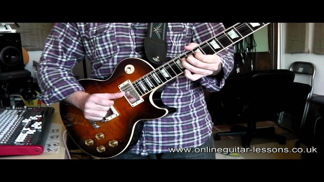 Gibson Les Paul Basics Of The Pickup Selection And Tone For Guitar Wiring Diagram 2 Humbuckers 3way Lever Switch 1 Volume Beginners