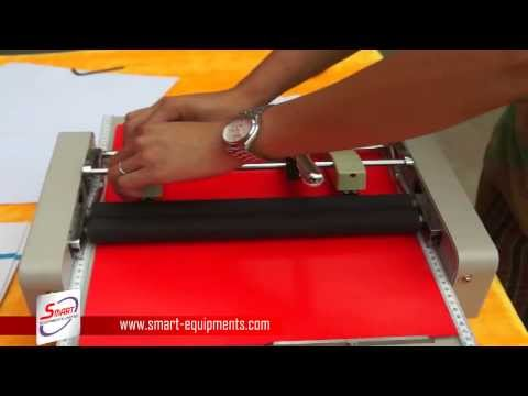 Electric paper folding and stapler