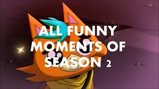 ALL FUNNY MOMENTS OF THE SEASON 2- FINAL SPACE- Sub Esp