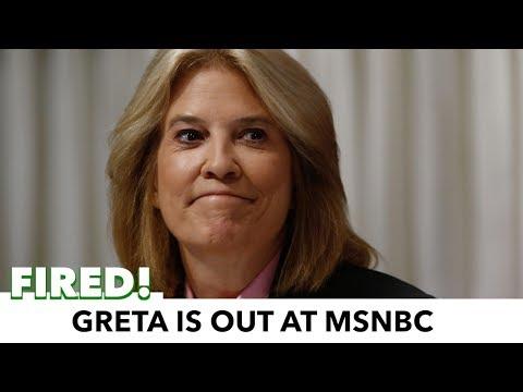 MSNBC Fires Greta Van Susteren