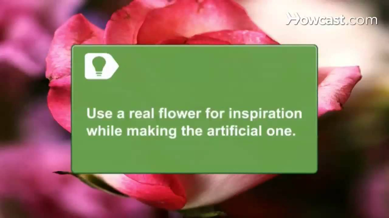 How to make silk flowers youtube how to make silk flowers mightylinksfo