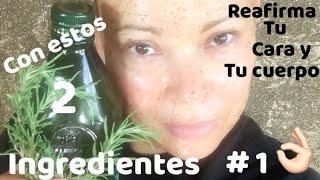 ACEITE  REAFIRMANTE #1 PARA CARA Y CUERPO