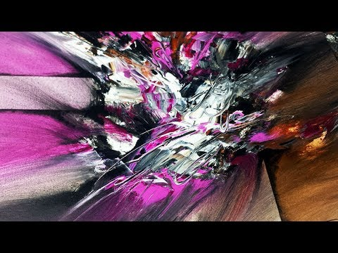 Abstract Painting / DEMO 47 / Abstract Art / Blending Acrylics / Painting Techniques