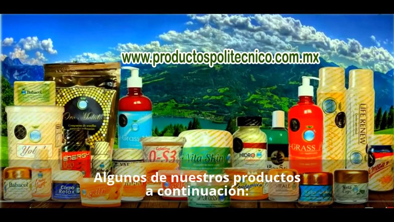 Producto para bajar de peso del politecnico de colombia