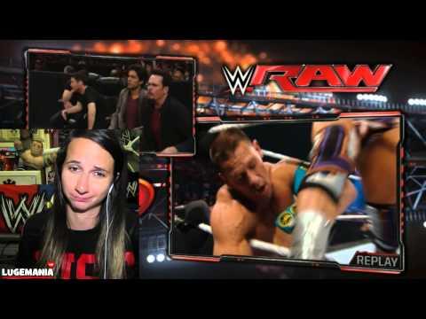 WWE Raw 5/25/15 John Cena vs Zack Ryder