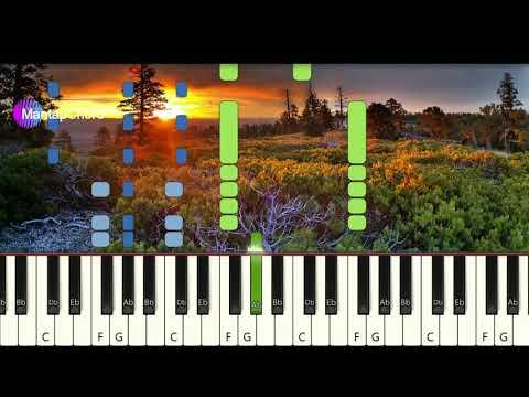 COLDPLAY - VIVA LA VIDA - Very Easy Piano Tutorial MantapChord