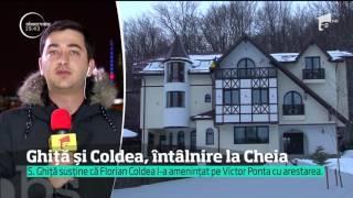 Sebastian Ghiță susține că prim-adjunctul SRI, Florian Coldea, l-a amenințat pe Victor Ponta cu