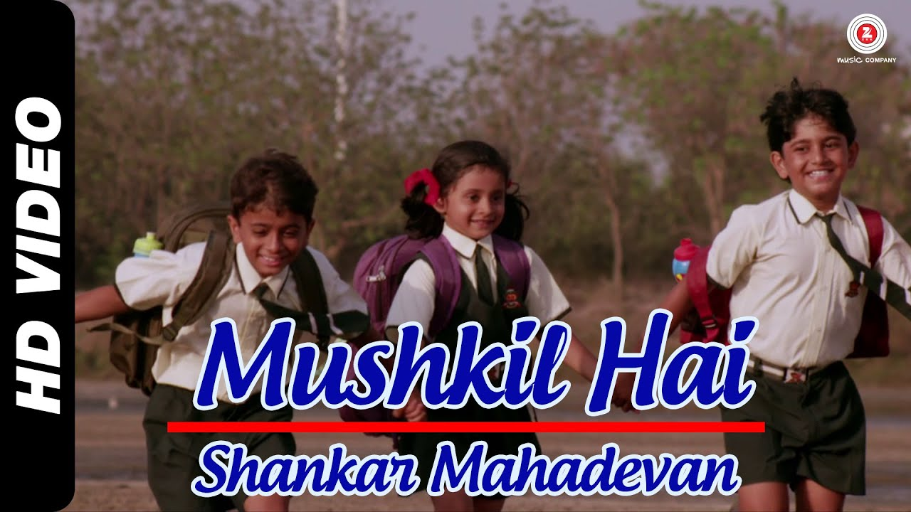 Mushkil Hai Official Video | Take it Easy | Shankar Mahadevan | Raj Zutshi & Anang Desai