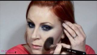 Temno moder Smokey make-up Thumbnail