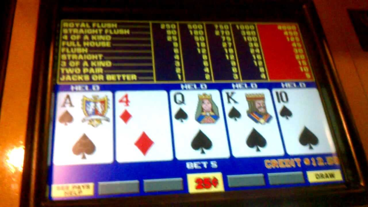 Odds of hitting a royal flush on video poker the nuts poker hand