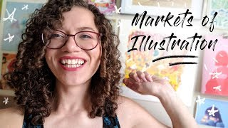 """""""What Can You Do With An Illustration Degree?"""" // Markets of Illustration"""