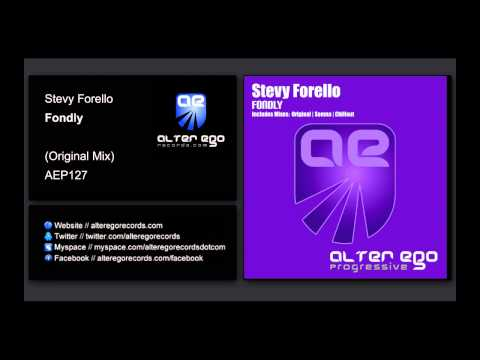 Stevy Forello - Fondly [Alter Ego Progressive]