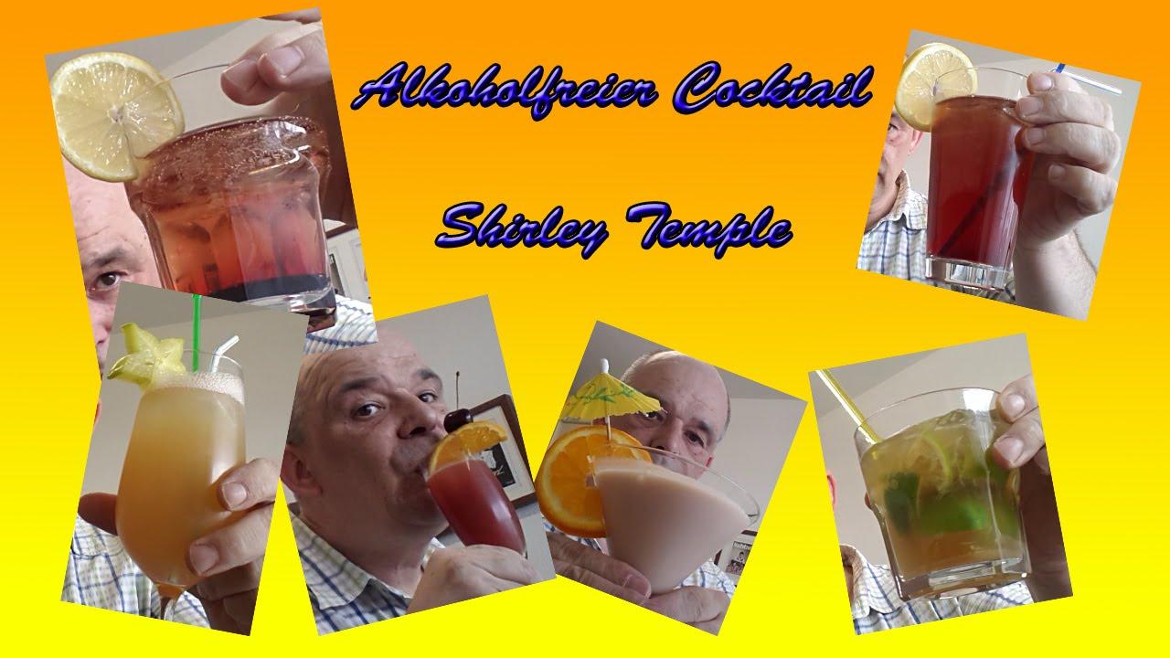 Alkoholfreier Cocktail Shirley Temple / Rezept / Tutorial