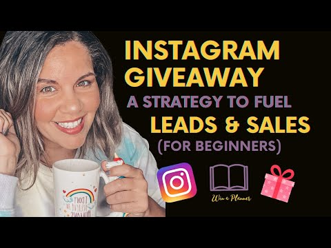 Instagram Giveaway Strategy 2020: Generate Leads and Sales
