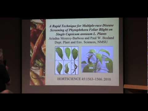 Paul Bosland Chile Pepper Institute 2011 Update