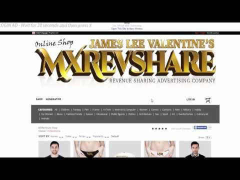 MXRevShare Обзор международного рекламного проекта  MXRevShare Заказ первой выплаты