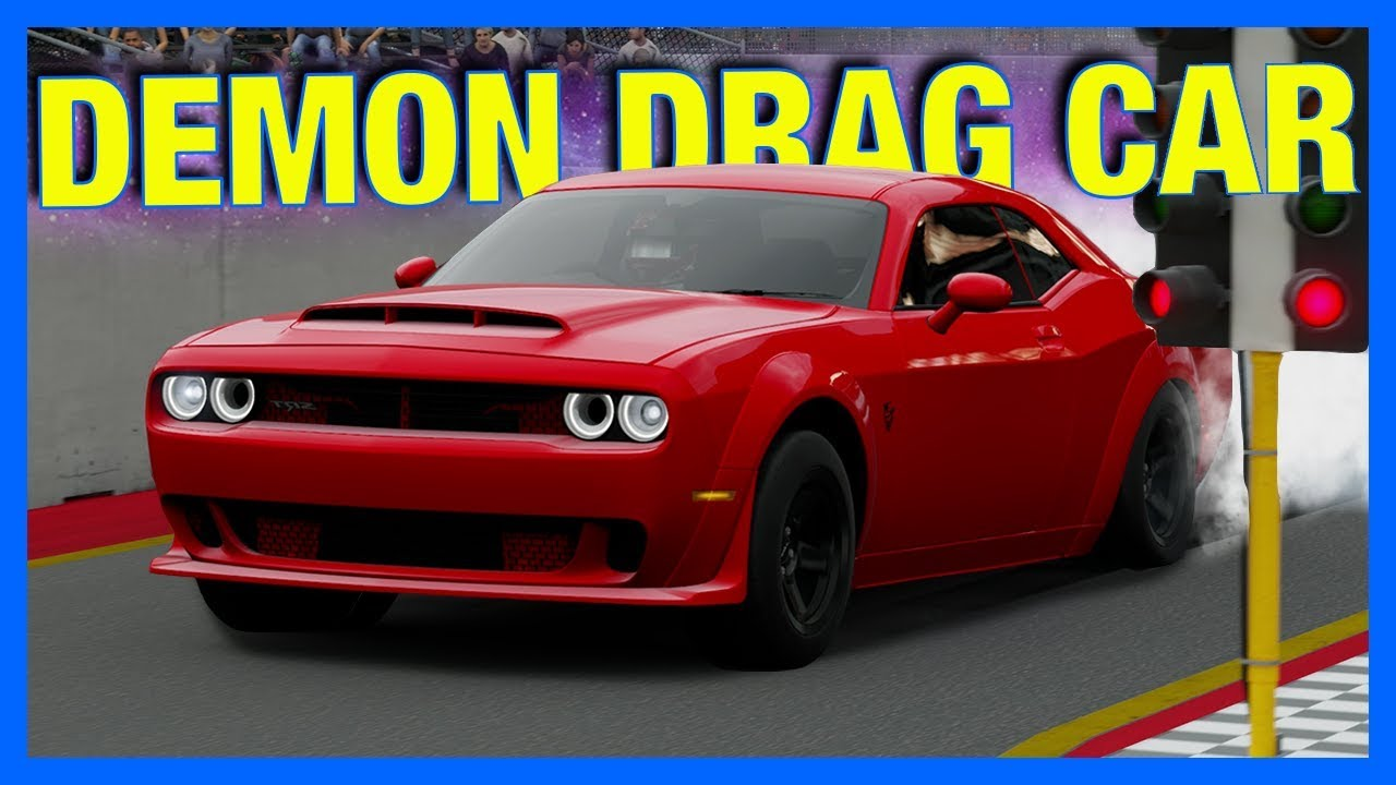 How To Build A Drag Car In Forza