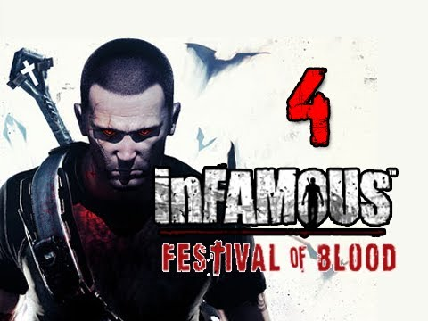 Infamous 2 Festival of Blood DLC: Walkthrough Part 4 Mary's Teachings Let's Play Gameplay