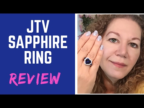 Sapphire Titanic Ring Shopping TV Review