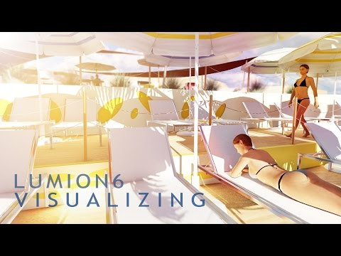 Rendering 3D Resort Architectural design lumion 6