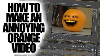 Annoying Orange - How To Make The Annoying Orange (howtobasic Parody)