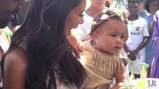 Us Exclusive: The Spoiled Life Of North West!