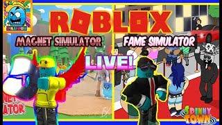 Roblox #73 (1) | SIMULATOR GRINDING! | LIVE | (sjk livestreams #289)